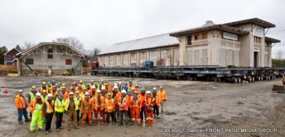 CDS Building Movers - Lansdowne Legacy Project