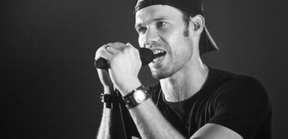 Chad Brownlee performs live at the Richmond Fair.