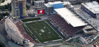 The Historic 1st Game and Victory of The CFL's Ottawa RedBlacks at TD Place.