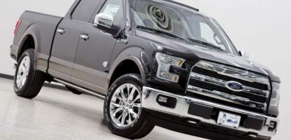 The new 2015, F-150 King Ranch