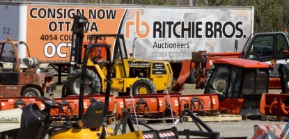 Ritchie Bros. Auctioneers Spring Show in Kemptville, Ont.