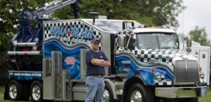 Aqua Drain driver, Henry Heuff