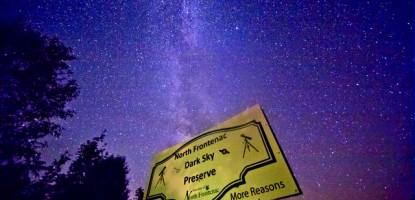 North Frontenac Dark Sky Preserve.