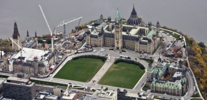 Centre Block construction is set to start in 2018, lasting over 10 years.