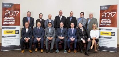 The 2017 NCHCA Board & Staff Photo.